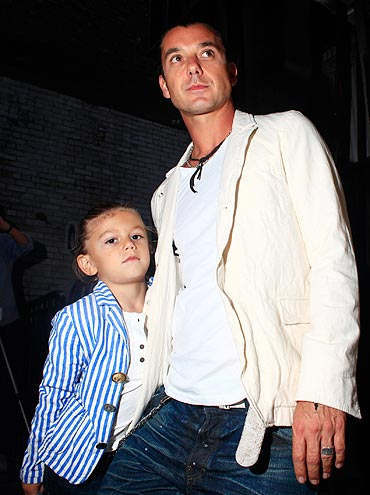 Kingston and Gavin Rossdale