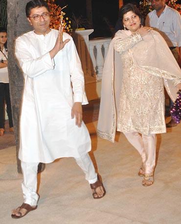 Raj and Sharmila Thackeray