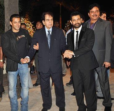 Salman Khan, Dilip Kumar, Aamir Khan and Shatrughan Sinha