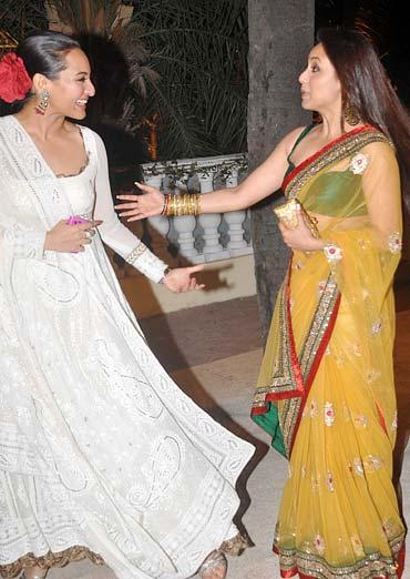 Sonakshi Sinha and Rani Mukerji