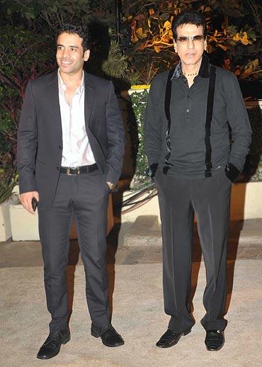 Tusshar Kapoor and Jeetendra