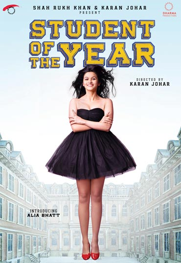 A poster of Student of the Year