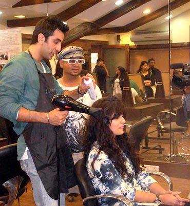 Ranbir Kapoor and Aalim