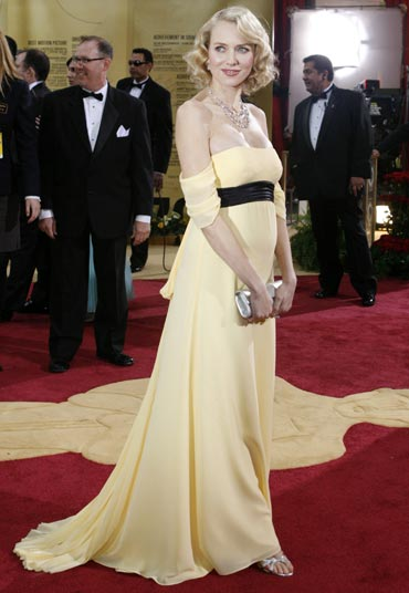 Naomi Watts at the Oscars, 2007