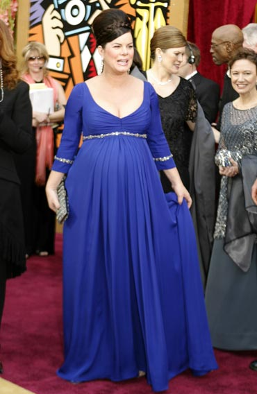 Marcia Gay Harden arrives for the 76th annual Academy Awards