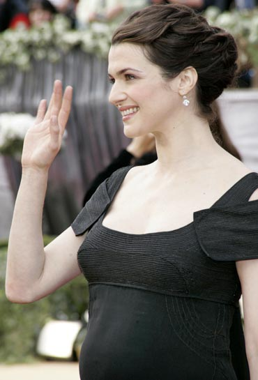Rachel Weisz arrives at the 78th annual Academy Awards