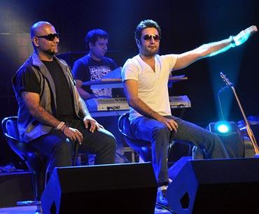 Vishal Dadlani and Shekhar Ravjiani