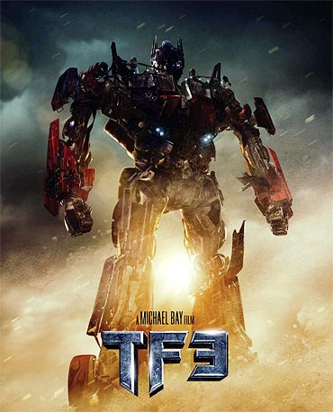 A poster of Transformers: Dark Of The Moon