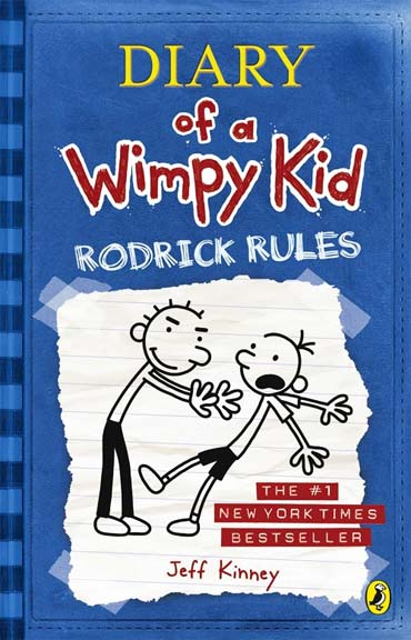 A poster of The Diary of a Wimpy Kid: Rodrick Rules