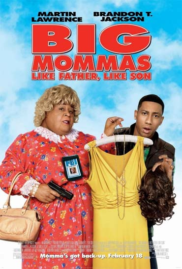 A poster of Big Mommas: Like Father Like Son
