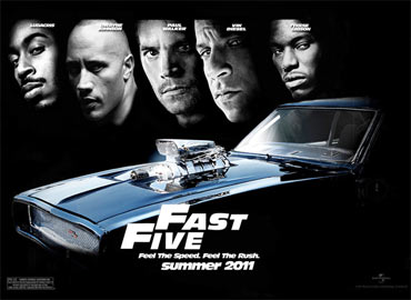 A poster of Fast Five