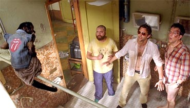 A scene from Hangover 2