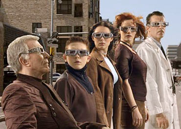 A scene from Spy Kids 3-D: Game Over