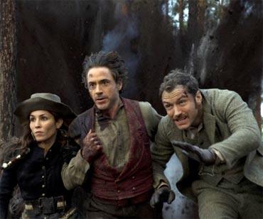 A scene from Sherlock Holmes 2