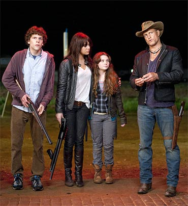 A scene from Zombieland