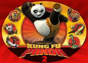 A poster of Kung Fu Panda 2: The Kaboom of Doom