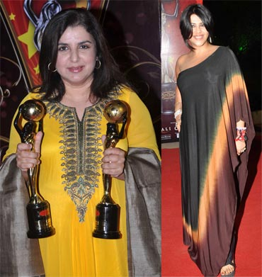 Farah Khan and Ekta Kapoor