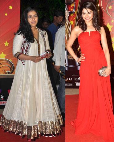Kajol and Prachi Desai