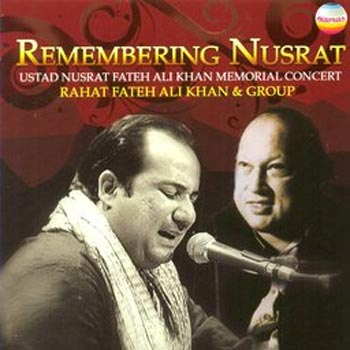 Rahat Fateh Ali Khan and his uncle Nusrat Fateh Ali Khan