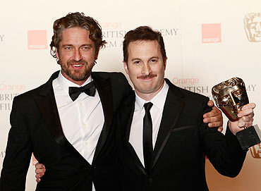 Gerald Butler and Darren Aronofsky