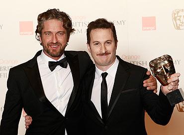 Gerald Butler and Darren Aronofsky