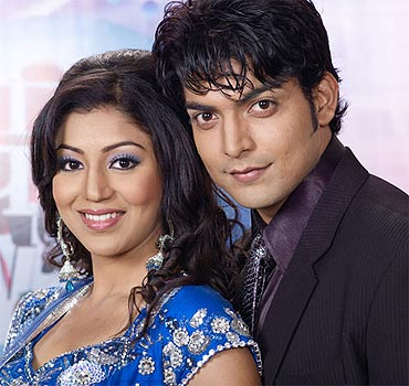 Debina Bonnerjee and Gurmeet Choudhry