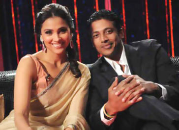 Lara Dutta and Mahesh Bhupathi on Koffee with Karan