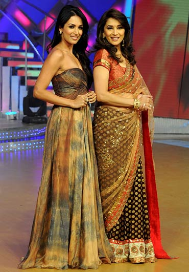 Malaika Arora Khan and Madhuri Dixit