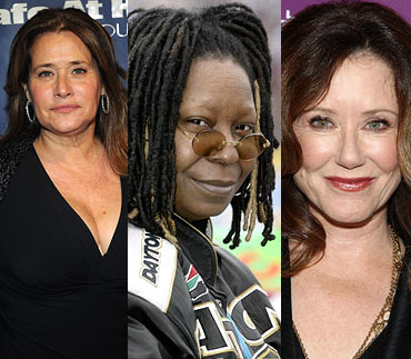 Lorraine Bracco, Whoopi Goldberg and Mary McDonnell