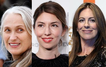Jane Campion, Sofia Coppola and Kathryn Bigelow