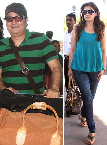 Vinay Pathak and Raveena Tandon