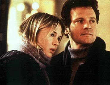 A scene from Bridget Jones's Diary