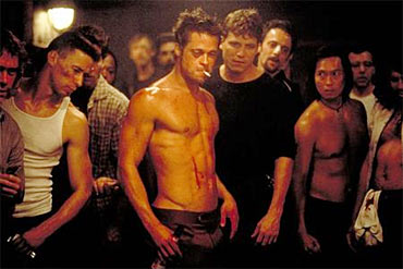 A scene from The Fight Club