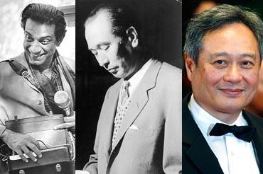 Satyajit Ray, Akira Kurosawa and Ang Lee