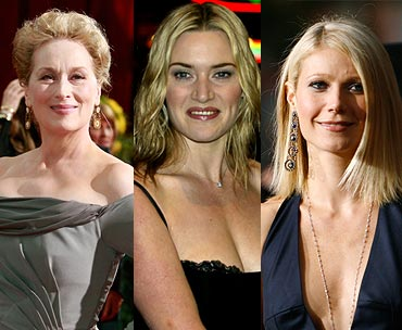 Meryl Streep, Kate Winslet and Gwyneth Paltrow