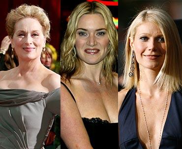 Meryl Streep, Kate Winslet and Gwyneth Paltrow