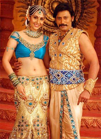 A scene from Ponnar Sankar