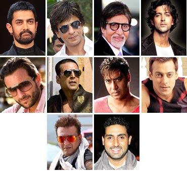 Bollywood's top leading men