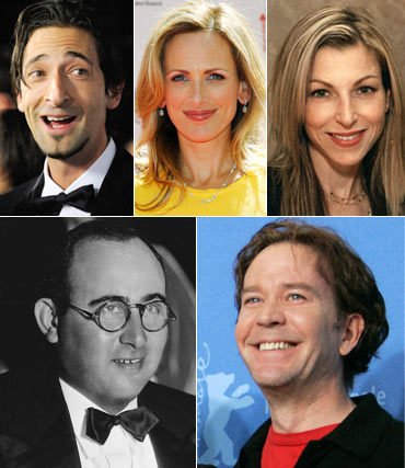 Adrien Brody, Marlee Matlin, Tatum O'Neal, Norman Taurog and Timothy Hutton