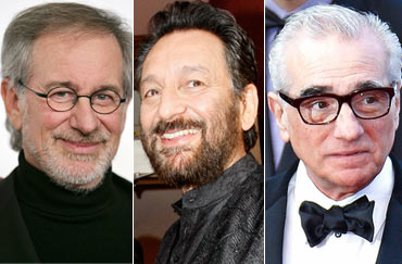 Steven Spielberg, Shekhar Kapur and Martin Scorsese