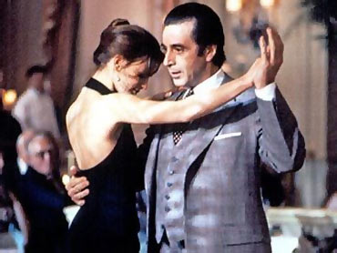 A scene from The Scent of A Woman