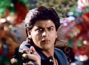 Shah Rukh Khan in Karan Arjun