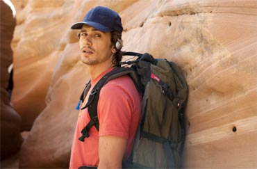 A scene from 127 Hours