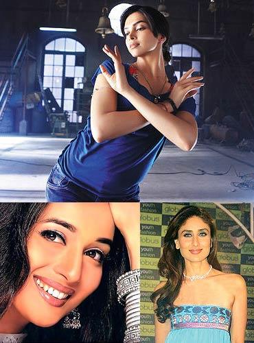 Deepika Padukone, Madhuri Dixit and Kareena Kapoor
