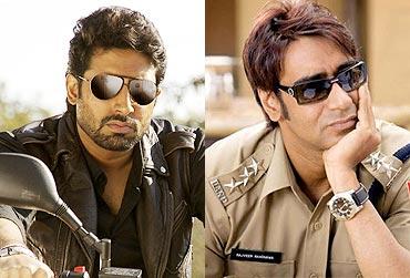 Abhishek Bachchan and Ajay Devgn