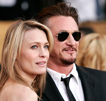 Robin Wright. and Sean Penn