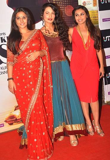 Vidya Balan, Sabrina Lal and Rani Mukerji