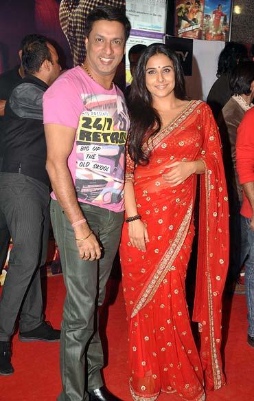 Madhur Bhandarkar and Vidya Balan