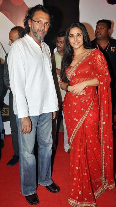Rakeysh Omprakash Mehra and Vidya Balan