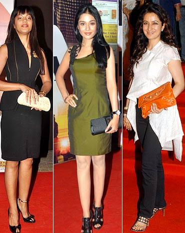 Mughda Godse, Amrita Rao and Tisca Chopra
